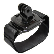 360 Degree Rotation Wrist Hand Strap Band Holder W/Mount for GoPro Hero 2 3 3+ 4