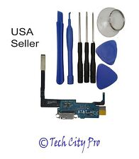 Samsung Galaxy Note 3 USB Charging Port & Mic AT&T N900A Flex Cable w/ Tools