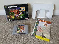 BANJO KAZOOIE - BOXED - UK Pal - Nintendo 64