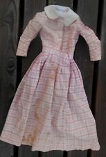 Grande robe pour poupée type PAULINE, époque XXème état grenier !