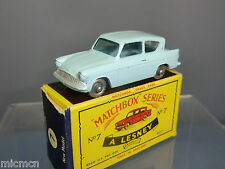 MATCHBOX  LESNEY MODEL  NO.7b  FORD ANGLIA      VN MIB