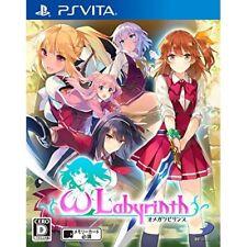 Used PS Vita Omega labyrinth Japanese Ver. Japan Import