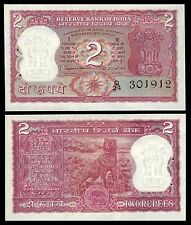 India 2 RUPEES Sign 78 incorrect Urdu ND P 52 UNC