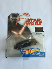 Star Wars KYLO REN Hot Wheels Character Car - Mint - White Card