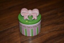 G15- Gorham Merry Go Round Little Girl With A Curl Trinket Box With Lid