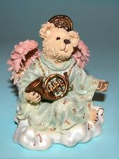 "Boyds Bears resin angel ""Harmony Angelsong"" #277922 bear 2003 Nib music"