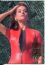 James Bond Connoisseurs Collection Volume 1 FX Tech Chase Card W4