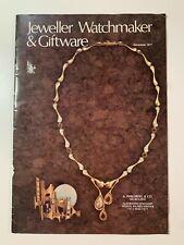 Vintage Australian Jeweller Watchmaker & Giftware Brochures December 1977