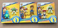 Lot Of 6 NEW Imaginext Disney Pixar Toy Story 4 Figures Bunny Buzz Forky Jessie