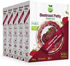 Veggie&Nature Vegan, Gluten-Free Beetroot Patty Mix (5 X 120 G)