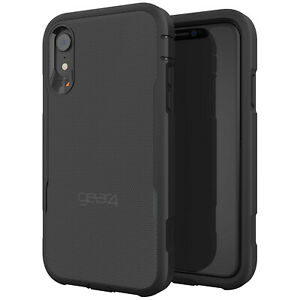 Gear4 Platoon D3O Shockproof Tough Rugged Rear Case for Apple iPhone XR - Black