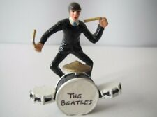 The Beatles - Set of Four Rare  Die-Cast Figurines Excellent condition