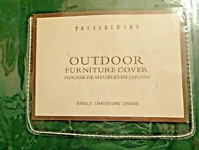 PotteryBarn Outdoor Furniture cover Single Chaise Forrest Green Universal Protec