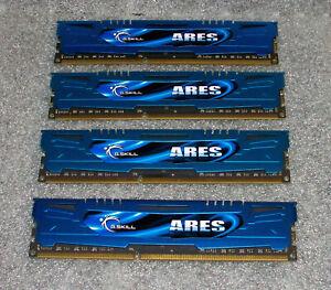 G.SKILL DDR3 16GB (4 x 4GB) (F3-1600C9D-8GAB)