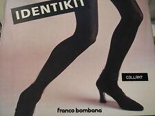 """Collezione trend by FRANCO BOMBANA """"IDENTIKIT"""" collant  marrone TG 2"""