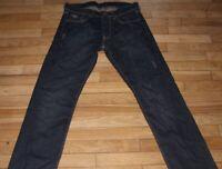 G-STAR  Jeans pour Homme  W 30 - L 34  Taille Fr 40  (Réf J067 )