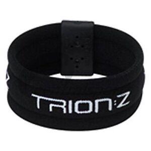 Trion Z Magnetic Therapy Sports Broadband Wristband Bracelet XL Black  NEW!!