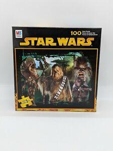 New Milton Bradley Star Wars 100 piece Puzzle MB HASBRO 49516-02 Chewbacca