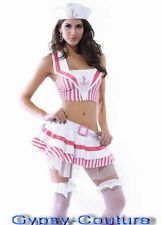 SEXY SAILOR NAVY GIRLS FANCY PARTY DRESS HALLOWEEN COSTUME