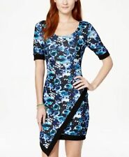 """Marilyn Monroe"" Junior's Floral Printed Asymmetrical X-Small Size Dress Macy's"