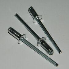 100 Stk. Blindnieten 5x12 Alu/Stahl  Senkkopf  5,0 x 12 Standard Nieten
