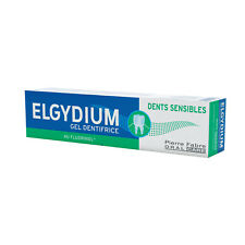 ELGYDIUM Sensitive Teeth Toothpaste Gel 75ml. Mild and Gentle with Mint Aroma