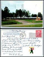 GEORGIA Postcard - Griffin - Griffin Motel M48