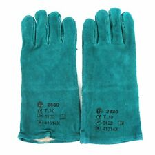 Welding Gloves Leather Size XL Green