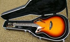 Ovation L778AX-5 Left-Hand Acoustic/Electric Guitar w/Hardcase
