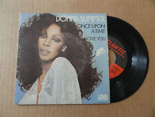"DISQUE 45T  DE  DONNA SUMMER   "" ONCE UPON A TIME  """