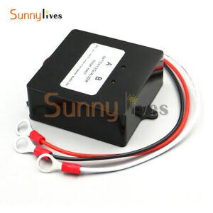 Solar Battery Voltage Equalizer for 2 X 12V 24V Lead-Acid Gel Battery Balancer