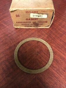 NORS CARBURETOR AIR CLEANER MOUNTING GASKET 1942-1961 DODGE PLYMOUTH 1556663