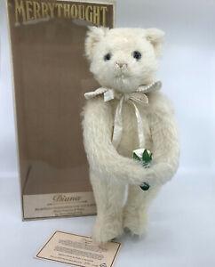 Merrythought Diana Princess Wales Teddy Bear LE 38cm Mohair Plush Silk 1989 Box