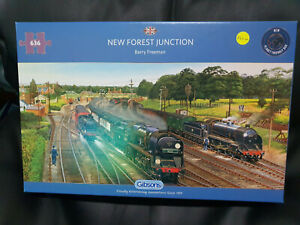 Gibsons G6317 New Forest Junction by Barry Freeman 636 pce jigsaw puzzle