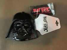 HOT TOPIC Star Wars DARTH VADER belt buckle 2005 New With Tags Black