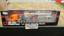 DCP #32268 SCHNEIDER TRANSPORT FREIGHTLINER SEMI TRUCK CHEMICAL TRAILER 1:64 FC