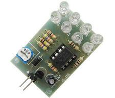 LM358 Breathe Light Lamp Flicker 8pcs 5MM Blue LED Suite Electronica Components