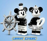 LEGO Minifigure - Mickey & Minnie - Disney Series 2 coldis2-1 & 2 FREE POST