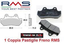 0330 - Coppia Pastiglie Freno Anteriori RMS per HONDA Transalp 600 dal 1987 >'90