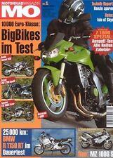 MO0401 + Dauertest BMW R 1150 RT + im Spezial: KAWASAKI Z 1000 + MO 1/2004