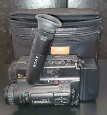 Sony Handicam Video 8 CCD-TR7 With CASE USED CONDITION