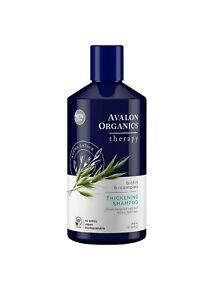 Avalon Organics Biotin B-Complex Thickening Shampoo, 14 oz. Thicker Fuller Hair