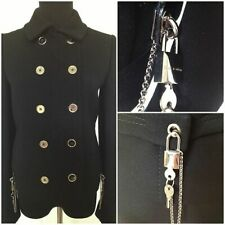 DOLCE & GABBANA RUNWAY Double Breasted Coat.  Size IT36 / US XS, 0 $4400