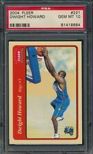 Dwight Howard 2004 Fleer Tradition #221 Orlando Magic ROOKIE RC PSA 10