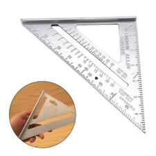 "SPEED SQUARE/ROOFING/RAFTER ANGLE TRIANGLE GUIDE MEASURE 7""ALUMINIUM ALLOY"