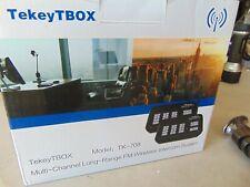 Wireless Intercom System TekeyTBox 1800 Feet Long Range  TK-708 Black