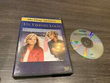 UN VIERNES LOCO DVD CINE FAMILIAR WALT DISNEY BARBARA HARRIS JODIE FOSTER