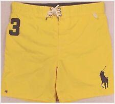 849e9e063a7 NWT Polo by Ralph Lauren Men Sanibel Big Pony Yellow Swim Trunks Swimwear