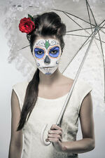BEAUTIFUL MEXICAN SUGAR SKULL CANVAS PICTURE #54 STUNNING GOTHIC WEDDING CANVAS