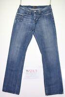 Lee Knox Contrast (Cod. Y1283) tg47 W33 L34 jeans vita alta usato vintage